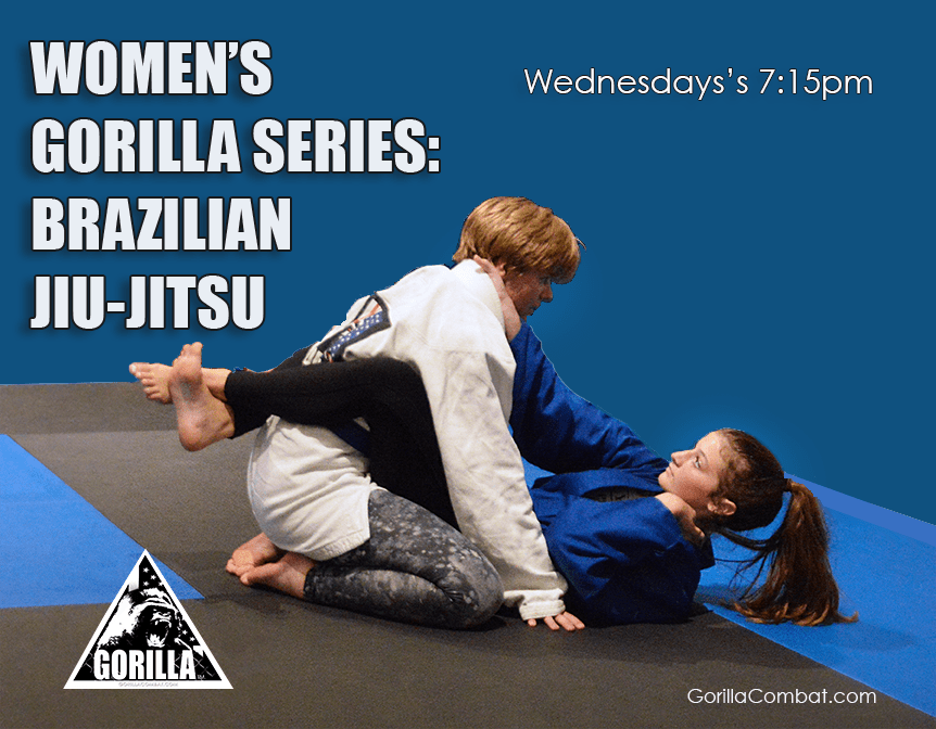 Women's Series: the Ground' Bjj workshops Wednesday's 7:15pm