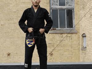 Professor Derek Barlow- Bellum Brazilian jiu-jitsu